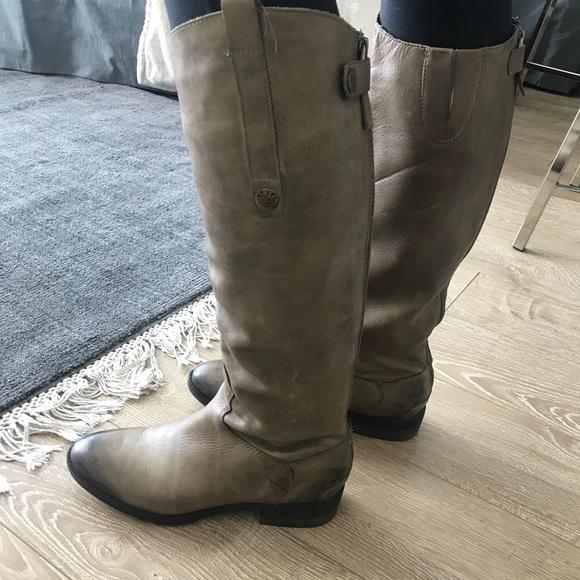 f2e8169fe04ad4 Sam Edelman Penny Olive Leather Riding Boots